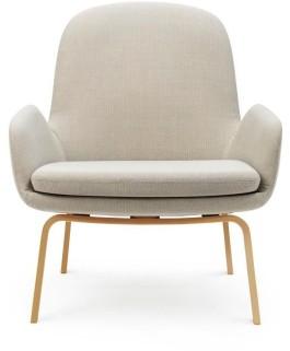 Normann Copenhagen - Era Lounge Chair Low - Wood Legs