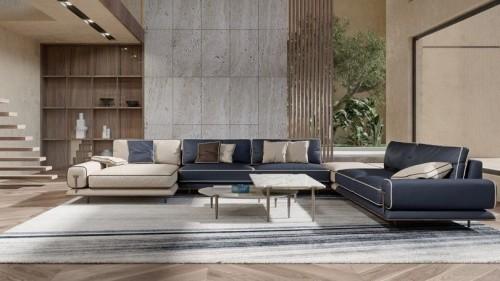 New BLUES Sofa by Turri